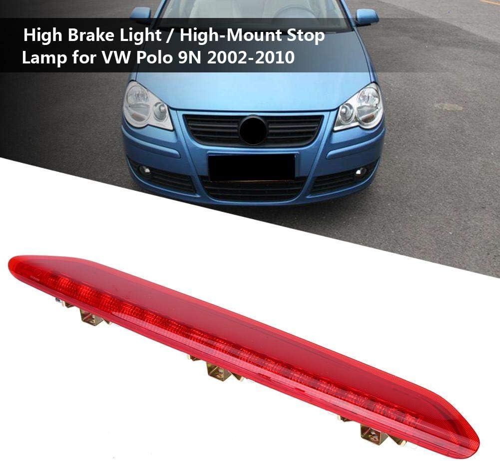 Luce freno a LED luce di arresto ad alto montaggio per VW Polo 9N 2002-2010 rosso 6Q6945097. 1 pezzo di luce LED per auto