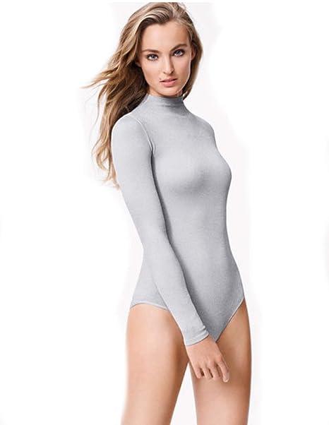 Wolford - Body - para Mujer Arctic Grey Lurex Small