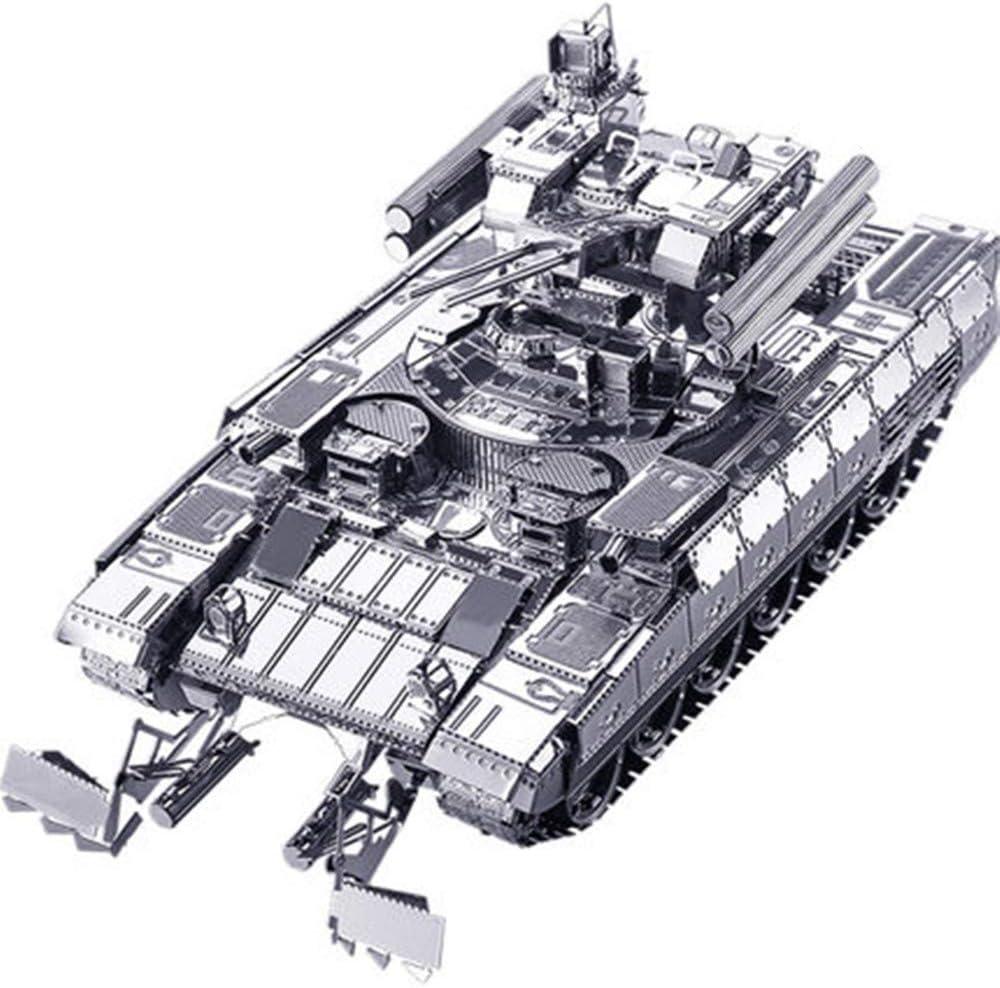 MQKZ Rompecabezas Tridimensional 3D BMPT Tanque Kit de Metal DIY ...