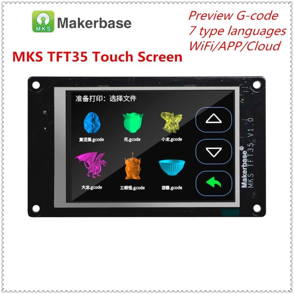 Amazon.com: Pantalla táctil para impresora 3D MKS TFT35 V1.0 ...