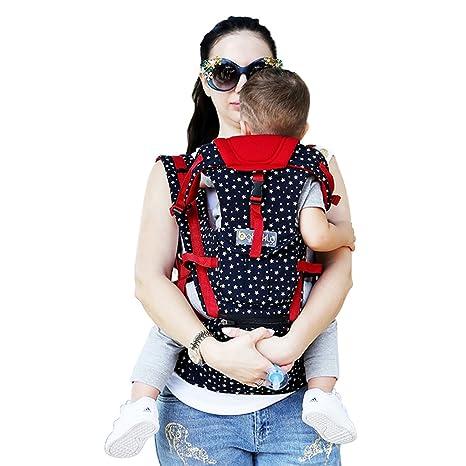 Mochila Portabebé ZUOAO Ajustable Portabebés (de 3 a 23 kg) Ergonomico Portador de Bebé