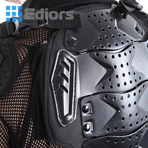 Ediors® Motorcycle Full Body Armor Protector Pro Street Motocross ATV Titan Sport Jacket Shirt (XX-Large) by Ediors (Image #5)