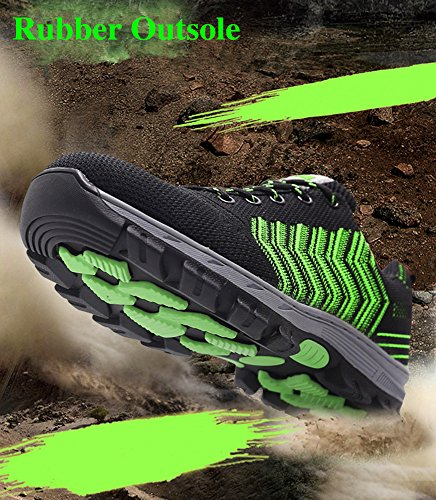 2018 Men Steel-Toe Safety Shoes Fashion Hiking Boots Construction Work Shoes by AiKim (Image #4)