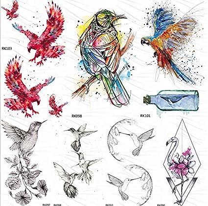 yyyDL etiqueta engomada del tatuaje temporal del arte 133D ...