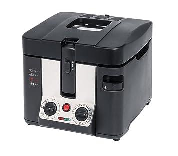 MEDION MD 15630 Solo 2.5L 2800W Negro - Freidora (2,5 L, 130 °C, 190 °C, Solo, Negro, Botones, Giratorio): Amazon.es: Hogar