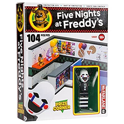 McFarlane Toys Five Nights at Freddy's Prize Corner Construction Building Kit: Toys & Games
