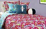 Surfer Girl Bedding - Queen / Full Comforter w/ Two (2) Hot Pink Surfboard Standard Shams