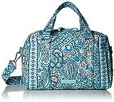 Vera Bradley Iconic 100 Handbag, Signature Cotton, Daisy Dot Paisley