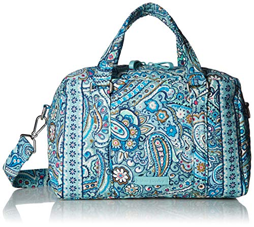 Vera Bradley Iconic 100 Handbag, Signature Cotton, Daisy Dot Paisley