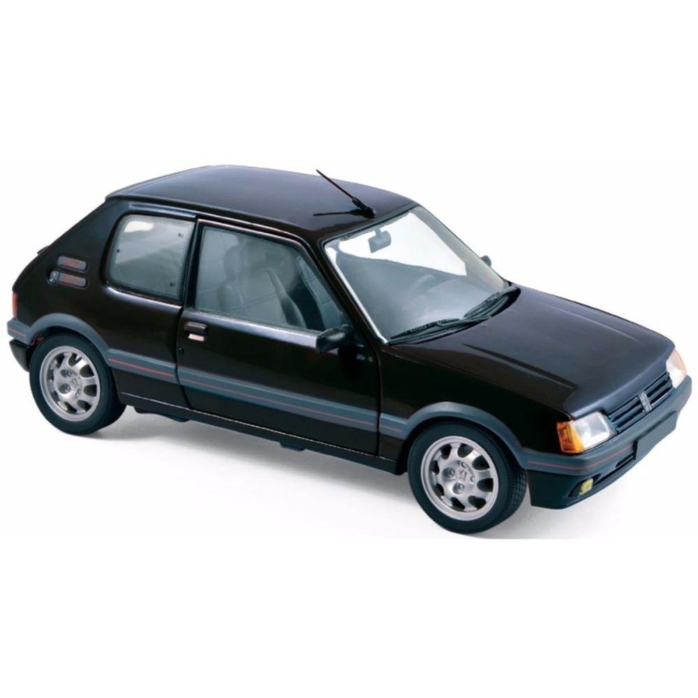 Norev Peugeot 205 GTI 1,9l de 1988, Escala 1/18, 184854, Negro: Amazon.es: Juguetes y juegos