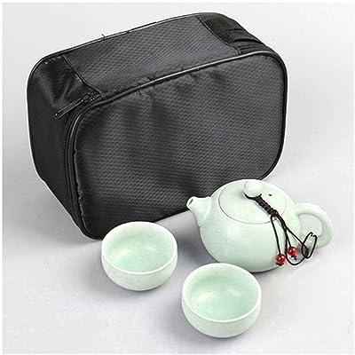 QJQ Tetera/Teapot clásico de cerámica,A: Hogar