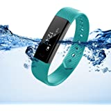 Marceloant Waterproof Fitness Tracker Watch Sport Wristband Pedometer Bluetooth Smart Bracelet Wireless Touch Screen Sleep Monitor Activity Tracker with Step Distance Calorie Counter