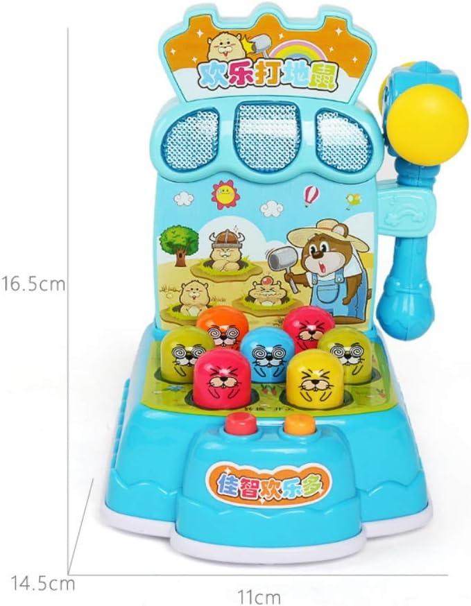 zuf/ällige farbe PowerBH kinder p/ädagogisches spielzeug joy elektrische hamster spielmaschine knock hamster spiel musik spielzeug bildung storytelling instrument