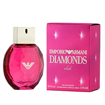 Emporio Armani Diamonds Club For Women 2016 Limited Edition 50ml 17 Floz Eau De Toilette Edt