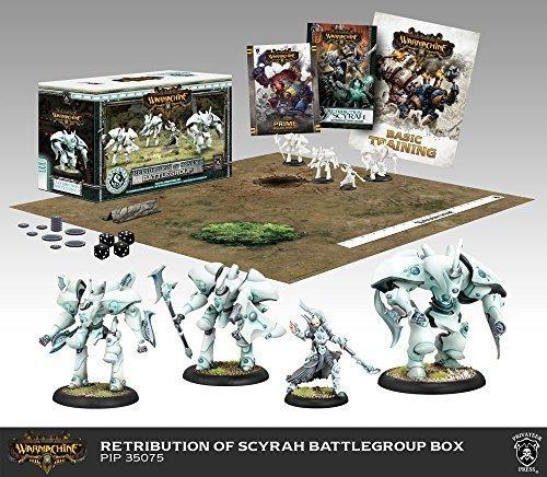 Warmachine Retribution: Battlegroup Starter Box (Mk - Box Two Battle Player