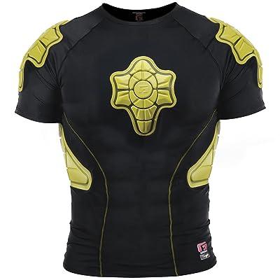 G Form PCS005001E Protection Haut du Corps Mixte Adulte, Noir/Jaune, Taille L