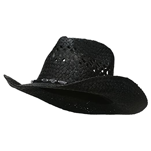 9d16953e6f3 MG Womens Straw Outback Toyo Cowboy Hat