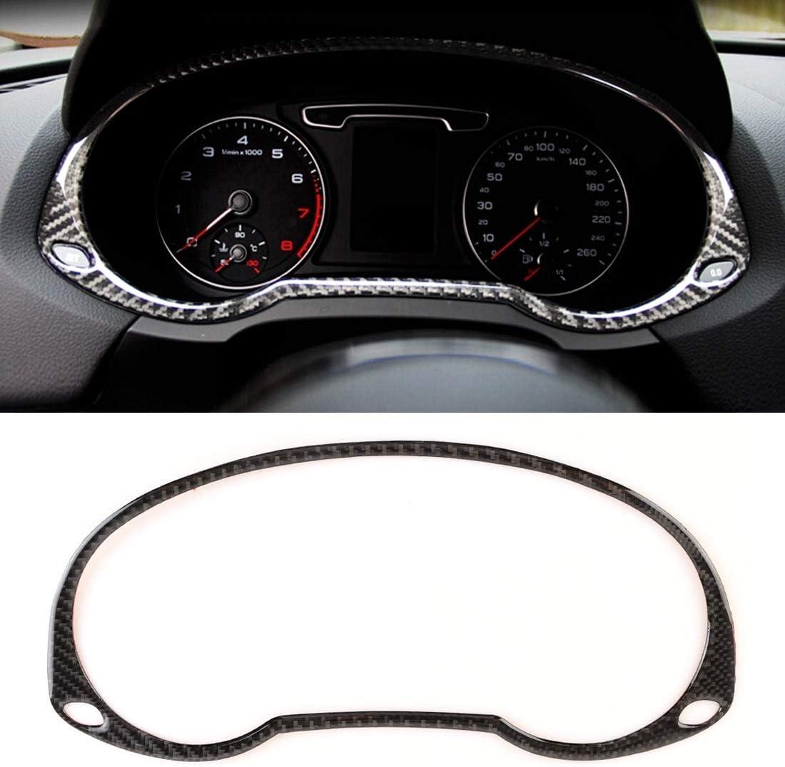 YPZHENN F/ür Carbon Auto Armaturenbrett Rahmen dekorative Aufkleber for Audi Q3
