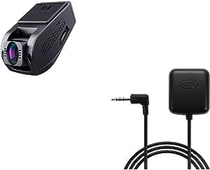 AUKEY DR02 Dash Cam FHD 1080p Car Camera& AUKEY GPS Antenna for Dashboard Cameras