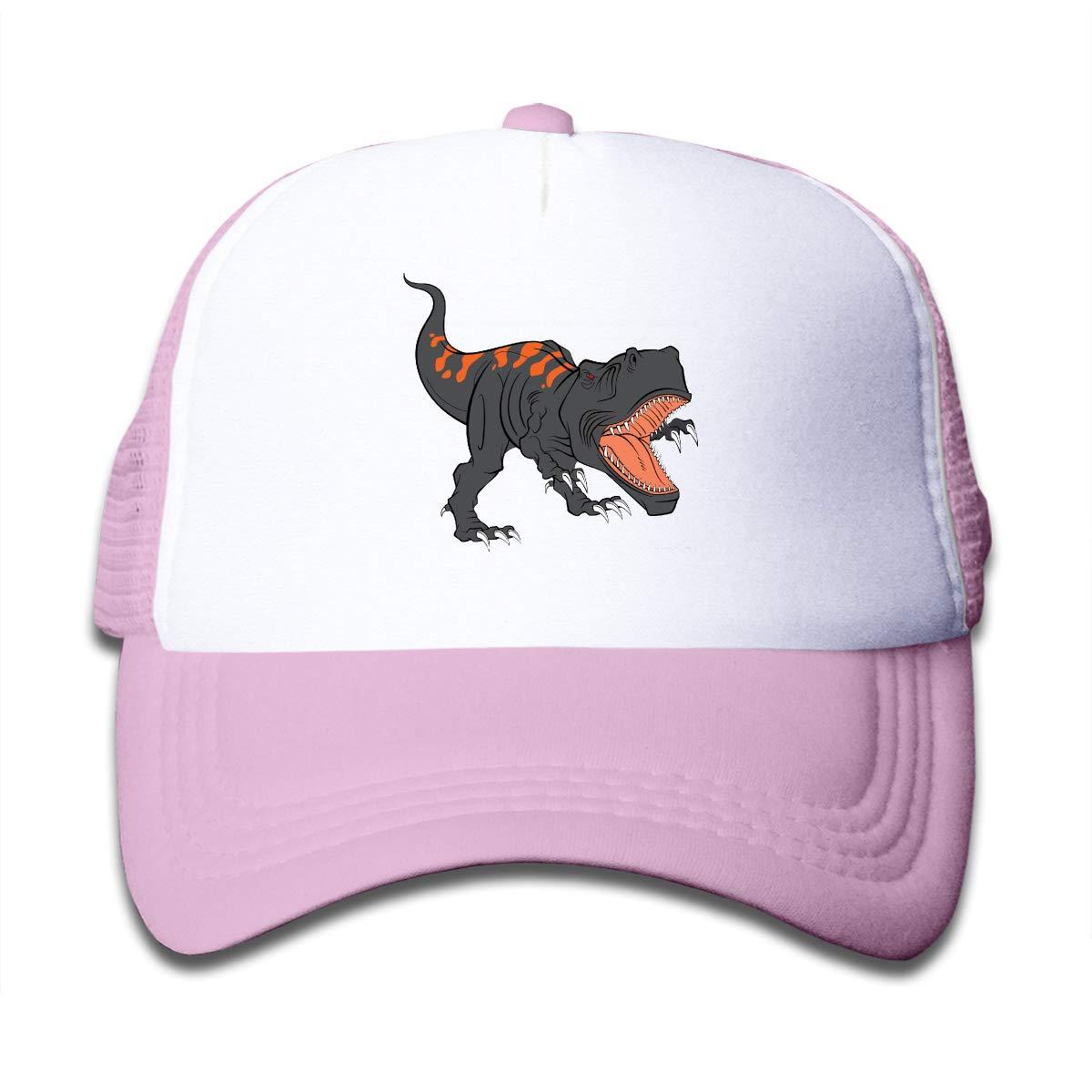 NVJUI JUFOPL The Fierce Dinosaur Childrens Baseball Cap Adjustable Mesh Hats