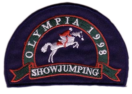 Olympia Equestrian Horse Back Riding Show Jumping Patch