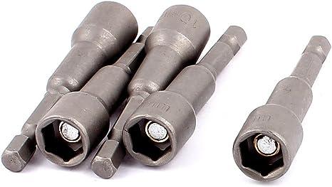 Aexit 100mm Long Hexagonal 19mm Douille /écrou Setters Douille Tournevis Outil /électrique 208C524