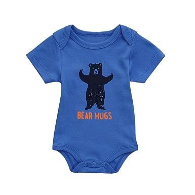 b8fd230e371 Kaiki Baby Girls Boys Jumpsuit