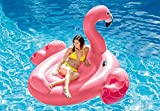 Intex Mega Flamingo, Inflatable Island, 86in X 83in X 53.5in