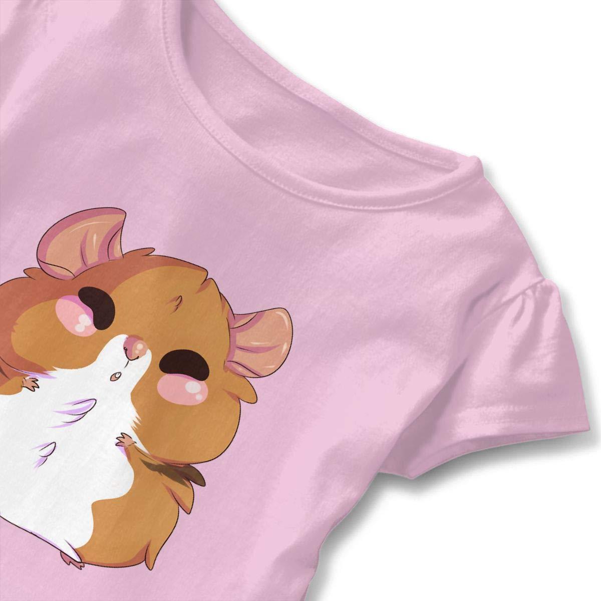 Hamster Everything Cute Short Sleeve Clothes for Boy Girl Dress Cotton T-Shirt Unique Bodysuit Romper,One-Piece Jumpsuit