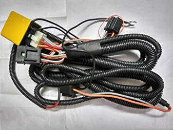 Spark Minda Headlight Wiring Harness Kit with Relay for Cars, SUVs on