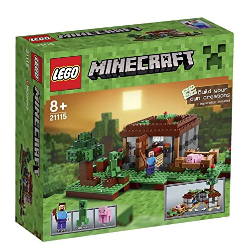 LEGO Minecraft Creative Adventures 21115 The First Night