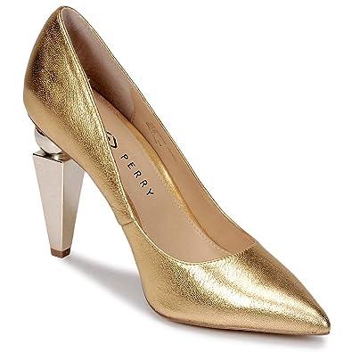 c07a756a87d7e3 Katy Perry Memphis Pumps Damen Goldfarben Pumps  Amazon.de  Schuhe ...