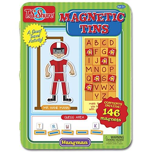 T.S. Shure Hangman Magnetic Tin Playset (Toy Old Tin Car)