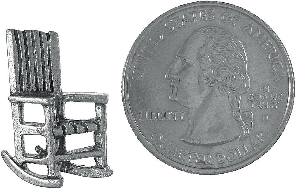 Jim Clift Design Spine Gold Lapel Pin