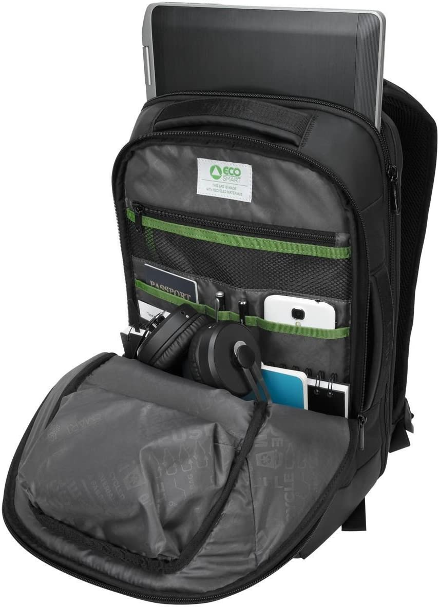 TBT918EU Black Targus Balance EcoSmart Briefcase Designed for Business and Professional Use fits up to 15.6-Inch Laptop