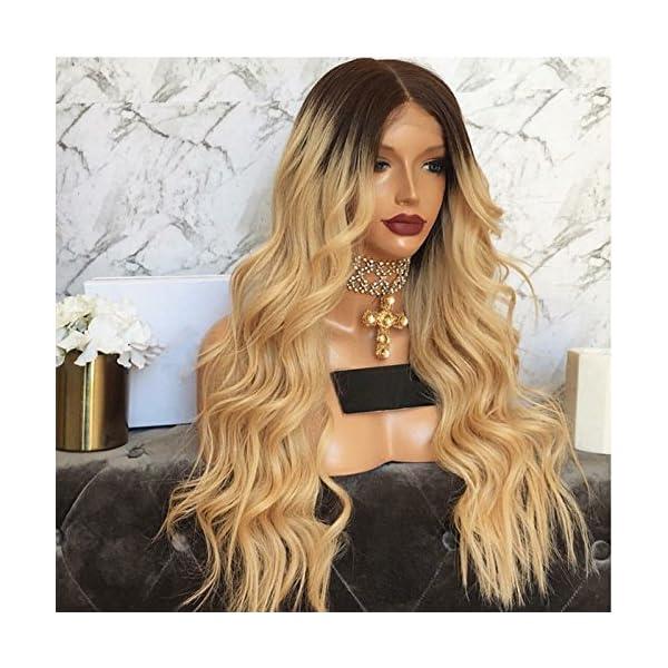 Hesperis Grade 10a Brazilian Hair Ombre Blonde Full Lace Wigs Free