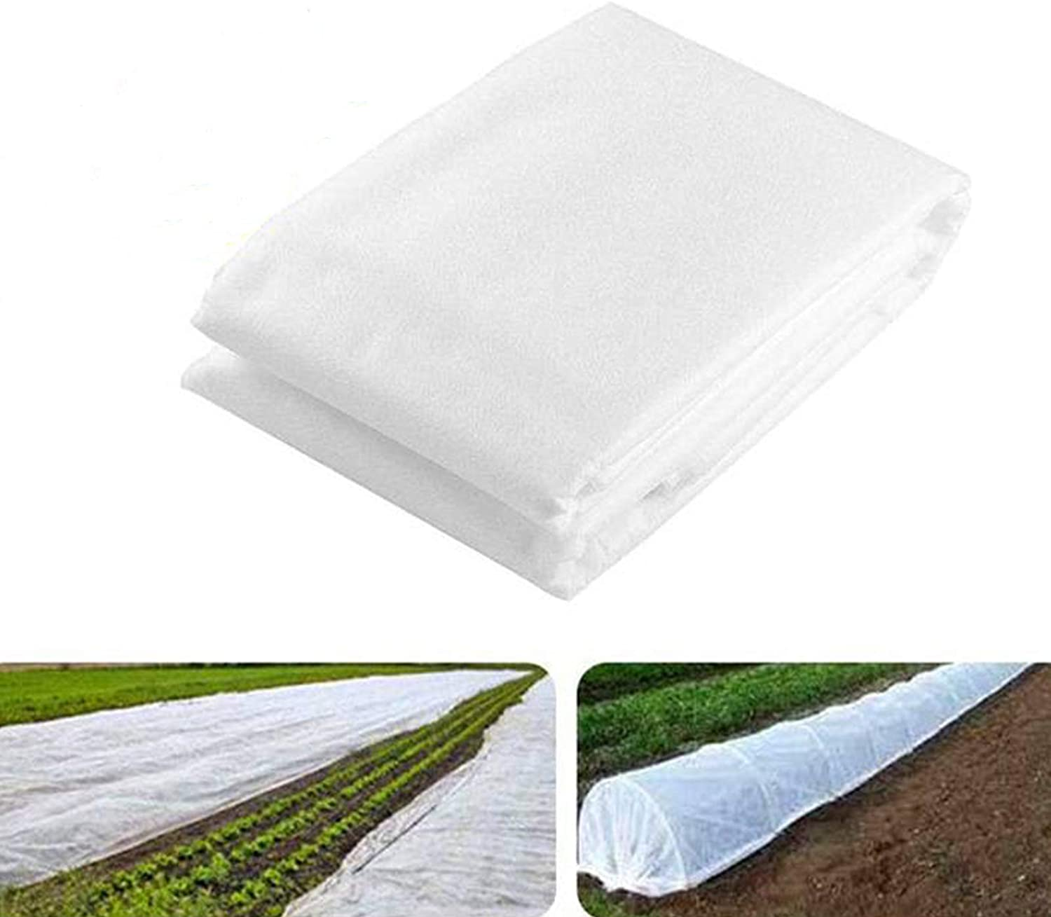 loofeng Plant Cover, Frost Protection for Plants, Garden Bed Cover, Row Covers for Vegetables, Winter Outdoor Plant Covers Freeze Protection