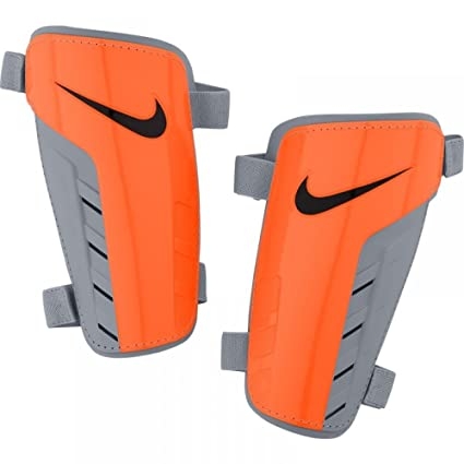 0b3a5a2c04dae Amazon.com : Nike Park Guard Shin Guards Orange Grey (Small ...