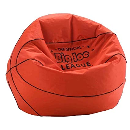 Amazon.com Comfort Research Big Joe Basketball Bean Bag Chair Kids Bean Bags (1) Kitchen u0026 Dining  sc 1 st  Amazon.com & Amazon.com: Comfort Research Big Joe Basketball Bean Bag Chair Kids ...
