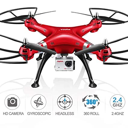 LENRUE Syma X8HG Drone New Altitude Hold Mode Headless 3D Flips RC ...