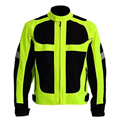 Men's Summer Motorcycle Jacket Racing Protective Gear Safety Clothing (3XL(Chest:48'')): Automotive