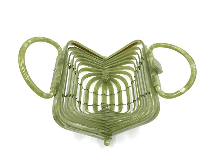Bokpld Acrylic Lilleth Clutch Collapsible Tote Bag Top Handle Handbag … by Bokpld