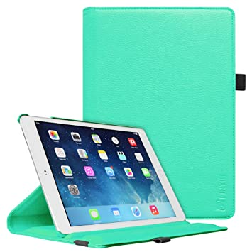 Amazon.com: Fintie iPad mini 1/2/3 funda giratoria, Verde ...