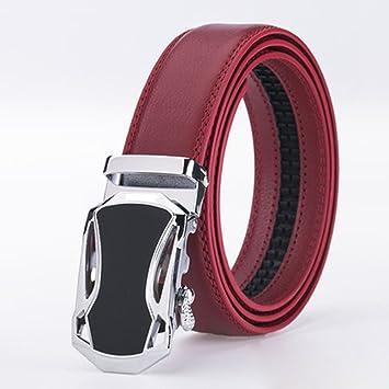 Zhenz Nueva Llegada diseño Marca de Lujo Cinturones Mujeres Hombres  Cinturones Rojos Correa de Cintura Masculina 9b8813da9f16
