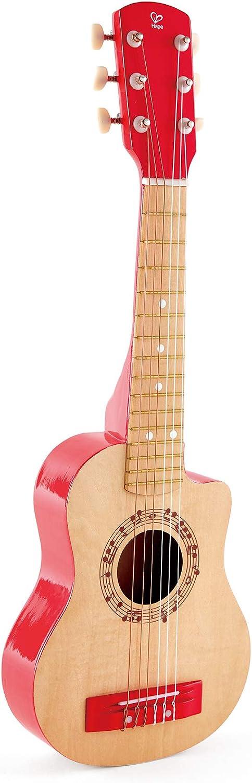 Guitarra clásica roja