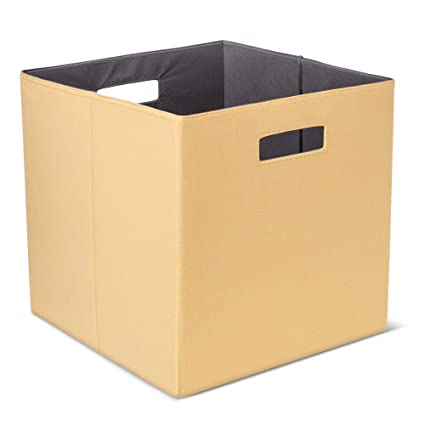 Image Unavailable. Image Not Available For. Color: Threshold Fabric Cube  Storage Bin ...