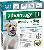 4-Pack, Medium Dog, Advantage Ii