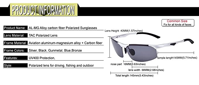 13f28c607a DUCO Classic Vintage Unisex Steampunk Style Polarized Aviator Sunglasses  for Outdoor Sports Fishing Golf W003  Amazon.ca  Clothing   Accessories