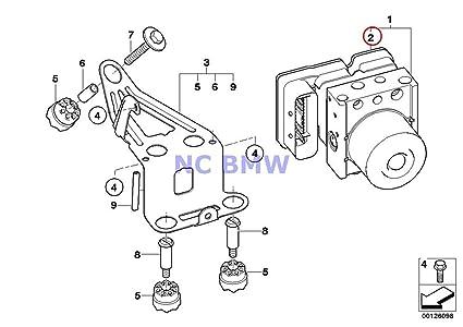 Amazon Com Bmw Mini Genuine Repair Kit For Abs Hydraulic Control