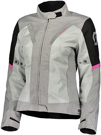 Scott Summer VTD Mujer Moto Chaqueta gris/negro/rosa 2018: Amazon.es: Coche y moto